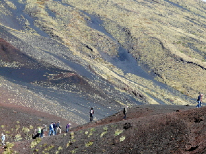SLOPES OF MOUNT ETNA